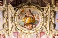 双重螺旋意大利博物馆罗马楼梯梵蒂冈 库存照片