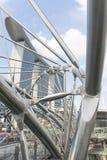 双重螺旋桥梁 库存图片