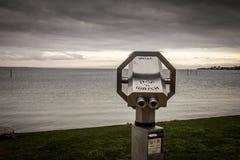 反光镜, Constance,德国湖  免版税库存图片