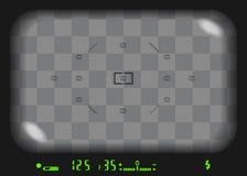反光镜3D 库存图片