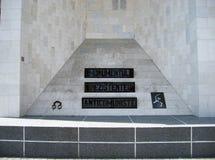 反共产主义的纪念碑 库存图片
