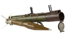反坦克火箭推进式榴弹发射器 免版税库存照片