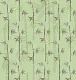 反复性的竹子阻止纹理 库存例证