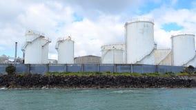 反对奥克兰地平线新西兰的大容量存储器终端 影视素材
