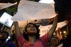 反对家长统治的抗议 免版税库存图片
