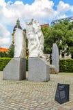 反对战争和法西斯主义,维也纳,奥地利的纪念碑 免版税库存图片