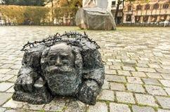 反对战争和法西斯主义-维也纳,奥地利的纪念品 库存照片