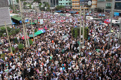 反对特赦比尔的抗议 免版税库存照片