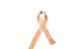 反对癌症丝带的世界天 库存照片