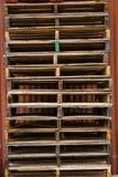 反对谷仓3的板台 图库摄影