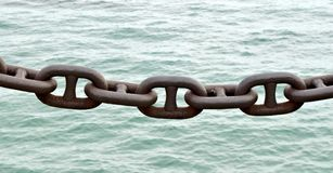 反对水的链节 库存图片