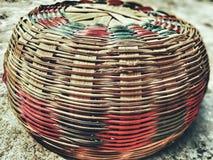 反射印地安艺术性的桶 库存图片