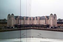反射在奥斯陆,挪威 免版税库存图片
