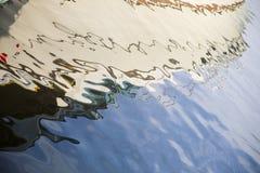 反射在水中 免版税图库摄影