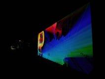 反射学习-交互式编辑-扎卡里Liebermanon信号节日布拉格 图库摄影