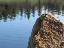 反射岩石 免版税图库摄影