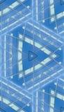 反射性大厦无缝的模式 免版税库存图片