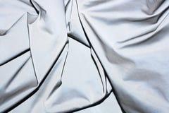 反射性组织反射器织品背景 库存图片