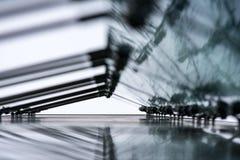 反射性玻璃 库存照片