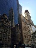 反射的大厦 免版税库存图片