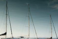 水反射 免版税库存照片