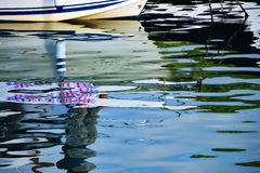水反射 库存照片