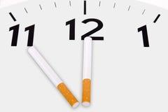 反市场活动抽烟 库存图片