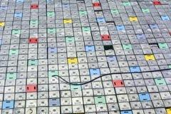 反应器室 核反应堆盒盖、反应器燃料元件的设备维修和替换 免版税库存照片