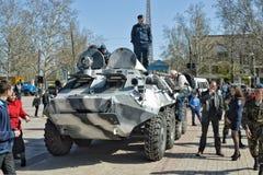 反恐怖主义者的展示 免版税图库摄影
