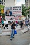 反战争抗议 库存照片