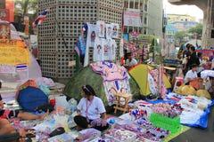 反政府抗议者的产品 图库摄影