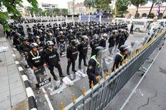 反政府抗议 免版税图库摄影