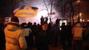 反政府抗议 股票录像