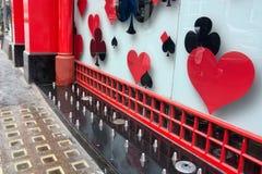 反无家可归的钉外部商店 免版税图库摄影