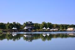 反映在湖 免版税图库摄影