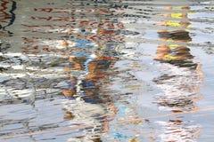 反映在水2 免版税库存照片