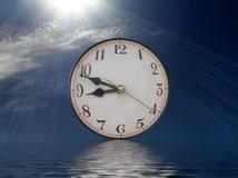 反映时间 库存例证