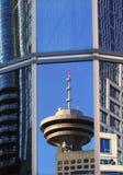 反映温哥华视窗 免版税图库摄影