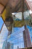 反映的摩天大楼 免版税库存图片