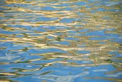 反映纹理水 免版税库存图片