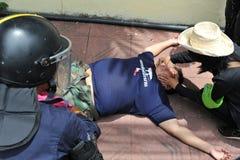 反特赦比尔集会在曼谷 库存图片