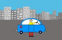 反空气污染的汽车 免版税库存照片