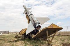 反航空器火箭复杂SA 2指南 库存照片