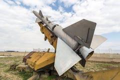 反航空器火箭复杂SA 2指南 免版税库存图片