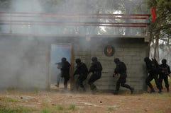 反暴力恐怖份子的单位房子003 库存图片