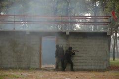 反暴力恐怖份子的单位房子005 图库摄影