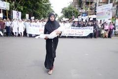 反以色列抗议 免版税图库摄影