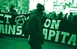反globalist拒付 免版税库存照片