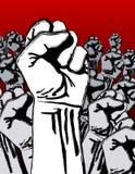 反grunge革命战争 免版税库存图片