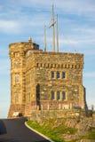 发信号小山全国古迹,圣约翰` s,纽芬兰,能 图库摄影